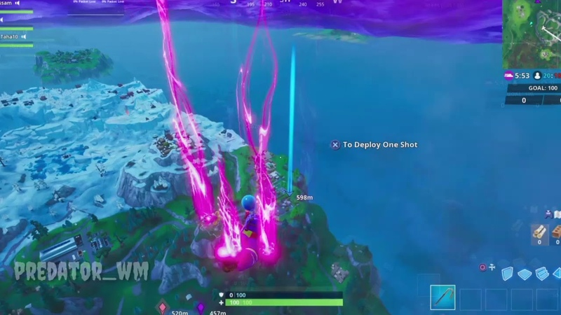 Fortnite visit Snobby Shores and Shift Shafts in single match