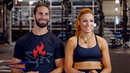 """Seth Rollins and Becky Lynch are featured in """"Muscle Fitness"""""""