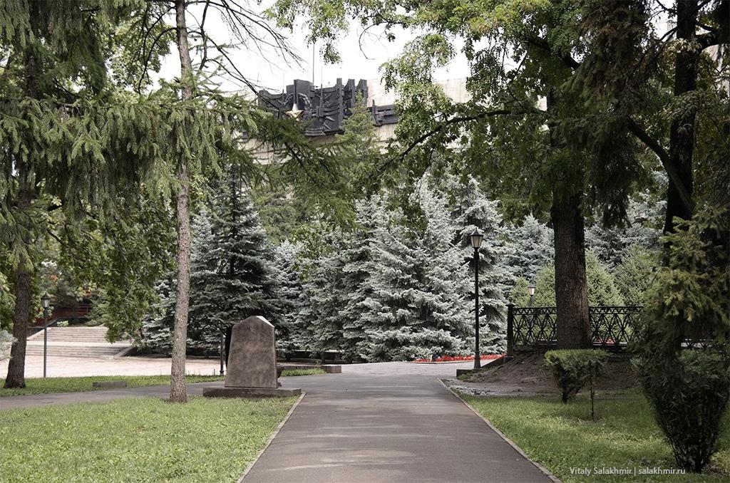Дорога в сторону Дома офицеров, Алматы 2019