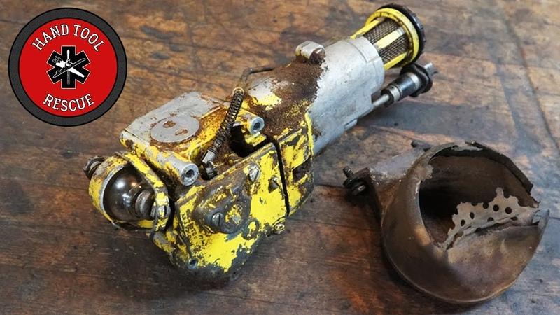 Two-Man Chainsaw - Carburetor Muffler [Restoration]