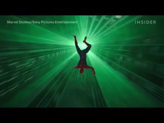 """Создание спецэффектов для фильма """"Человек-Паук: Вдали от Дома""""."""