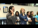 Space Station Crew Members Talk to Cast of The Martian