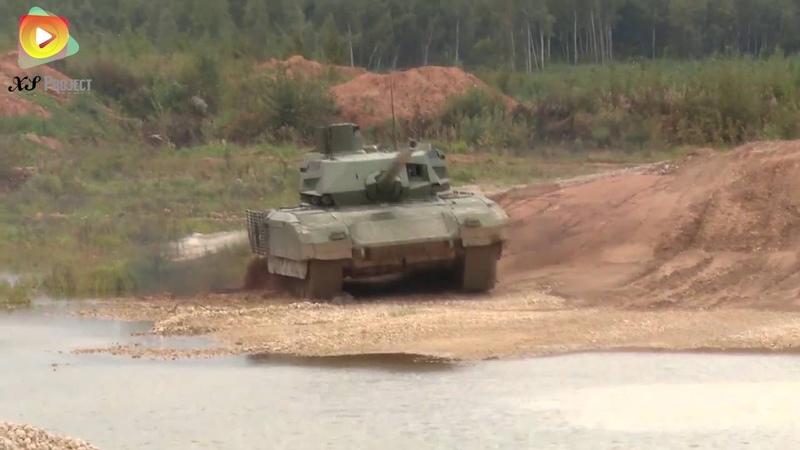 Армата. День танкиста. Cамые зрелищные и редкие кадры из новейшей истории танковых войск.