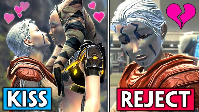 Nadia Grell Romance [Female Jedi Consular] Rejecting Her Feelings in SWTOR, Jedi Under Siege