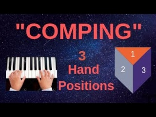 COMPING: Three Hand Positions; How to play chords in a band.