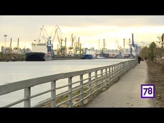 Александр Беглов на Путиловской набережной