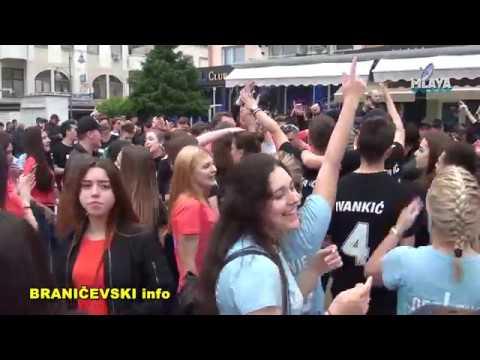 Maturanti Srednje skole Mladost, poslednji dan u skoli (RTV MLAVA 24.05.2019.)
