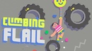 Climbing Flail - Pull down and release to fling your floppy body upwards (Gameplay iOS)