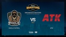 Swole Patrol vs ATK DH Masters Malmö 2019 NA Quals map1 de inferno Gromjkee SSW