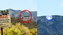 Real UFO Sighting Caught on Camera! Area 51 | Unexplained UFO Takeoff
