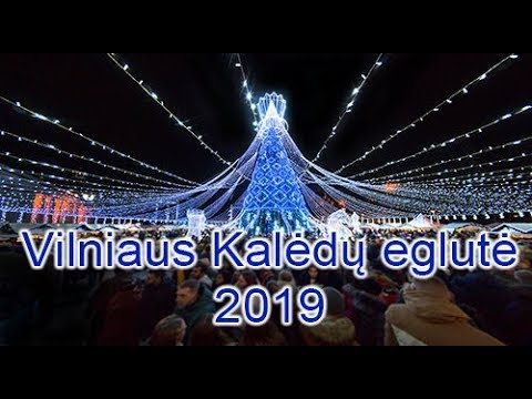 Vilniaus kaledu eglute 2019