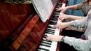 Ю Весняк Адажио игра на фортепиано в 4 руки детская школа искусств