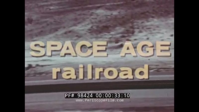 SPACE AGE RAILROAD U.S. AIR FORCE ROCKET SLED TRACK HOLLOMAN NEW MEXICO JOHN PAUL STAPP 98424