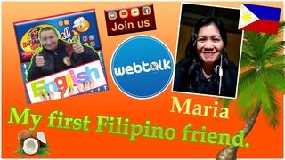 My first Filipino friend