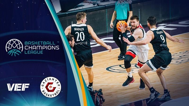 VEF Riga v Gaziantep - Highlights - Basketball Champions League 2019-20