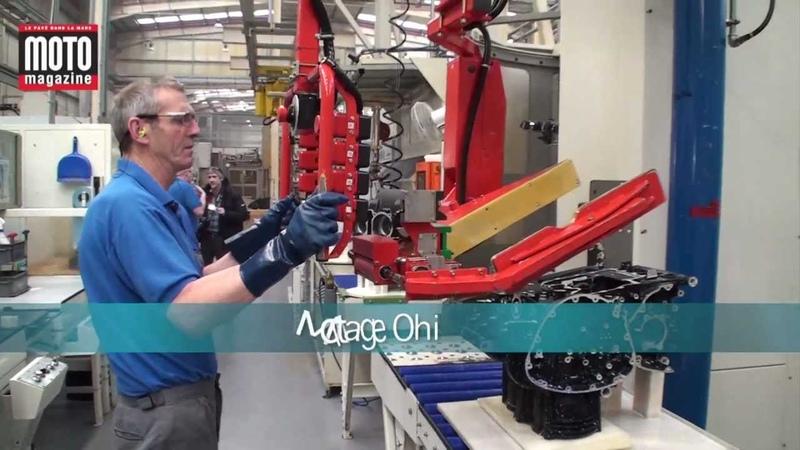 Visite de l'usine Triumph d'Hinckley : modernité... et rentabilité