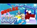 РОБЛОКС Mega Fun Obby 1930 ЭТАПОВ Приключения мульт героя с Данила Мастер! Как пройти 70 уровней