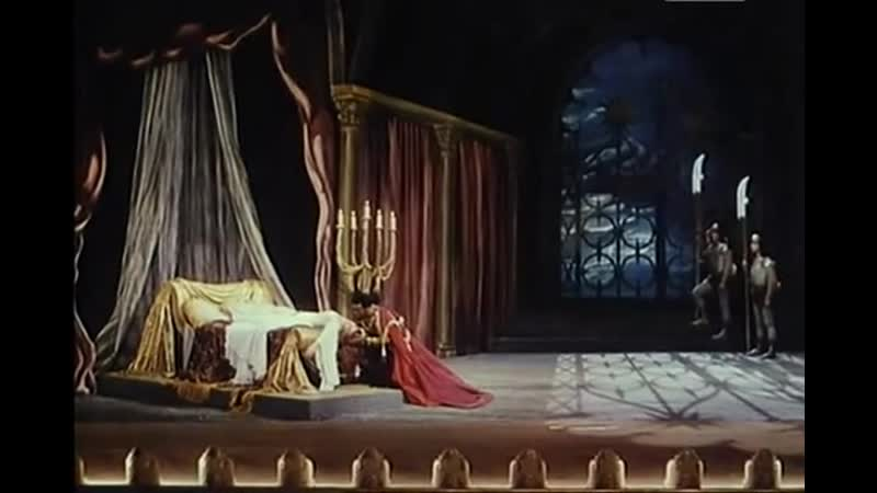 Верди Дж.Отелло.Сцена смерти Отелло.Марио дель Монако.Из кф Джузеппе Верди
