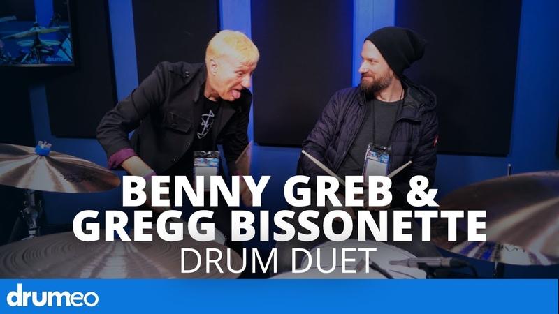 Legend Meets Legend - Benny Greb Gregg Bissonette Drum Duet