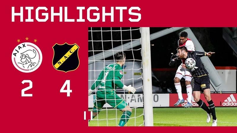 Highlights Jong Ajax NAC Breda