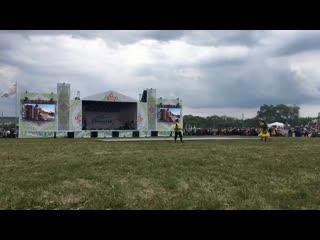 Открытие Х Всероссийского сельского Сабантуя в Камышле