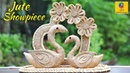 DIY Swans with Jute Rope Swan Couple Home Decor Showpiece Jute Craft Decoration Design