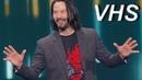 Потрясающий Киану Ривз на презентации Cyberpunk 2077 - E3 2019 на русском - VHSник