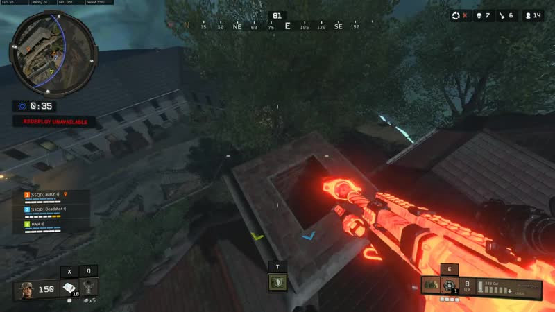 Thought my strat for a fast and safe way to get on docks roof in Alcatraz could be useful to others, so here it is. Black Ops 4