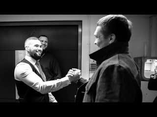Теплая встреча Усика, Белью и Ломаченко | FightSpace