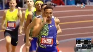 [New American Récord] Men's 800m - Millrose Games 2020