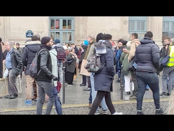 Gare Du Nord 10 Novembre Contre L'Islamophobie