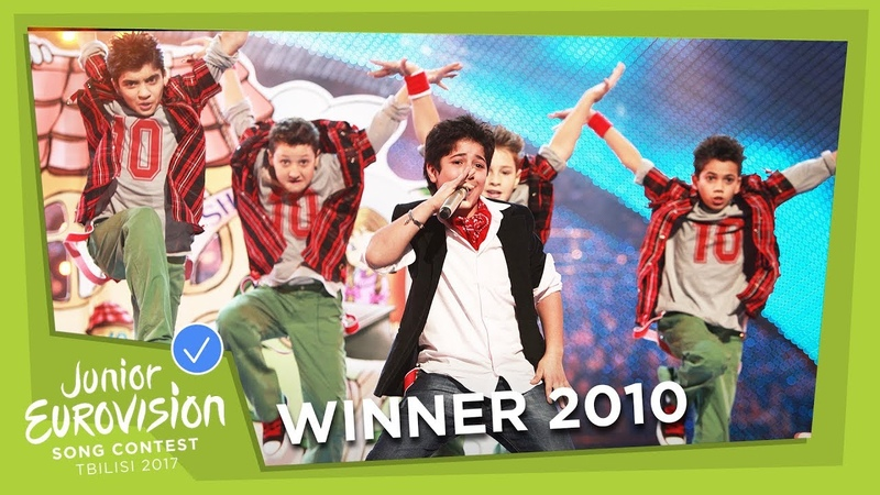 JUNIOR EUROVISION 2010 VLADIMIR ARZUMANYAN - MAMA - ARMENIA 🇦🇲 - WINNER