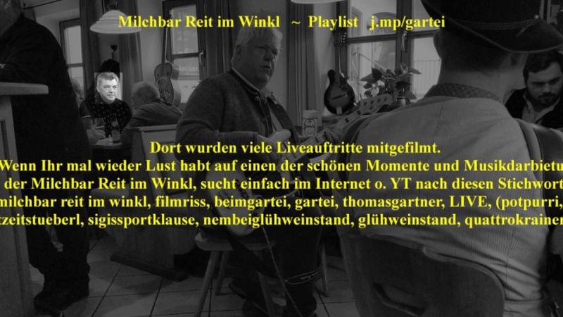 Die Milchbar Reit im Winkl hat nun eine eigene Playlist j.mpgartei ! ® HKH © www.LosRein.de