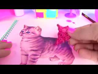#Куклы Лол Мультик! Раскраска питомца и его нарядов Lol Surprise #Coloring Book for kids Шопкинс