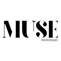 Логотип MUSE photostudio. Фотостудия и арт-пространство