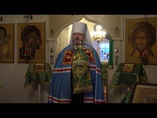 Проповедь митрополита Корнилия в Антониево-Сийском монастыре, 20 декабря 2019 года