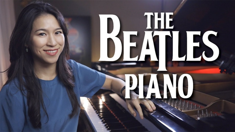 Because Beatles Piano Cover with Improvisation
