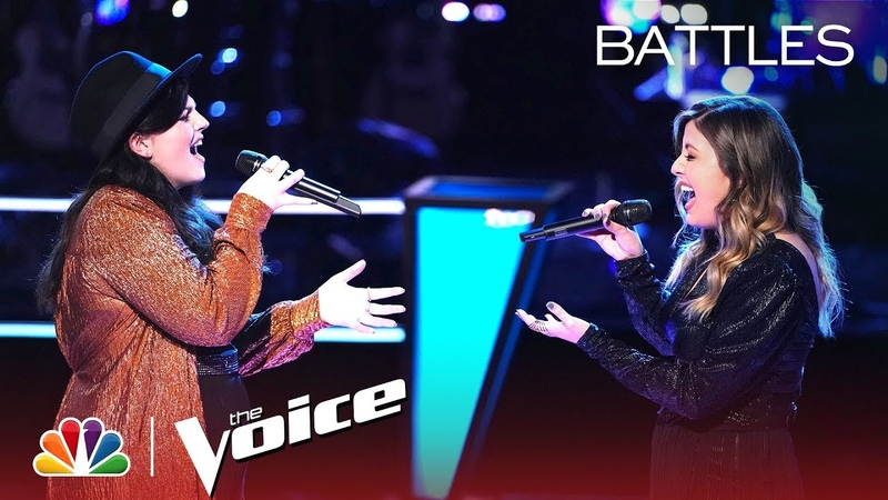 Savannah Brister and Maelyn Jarmon Battle to When We Were Young The Voice Battles 2019