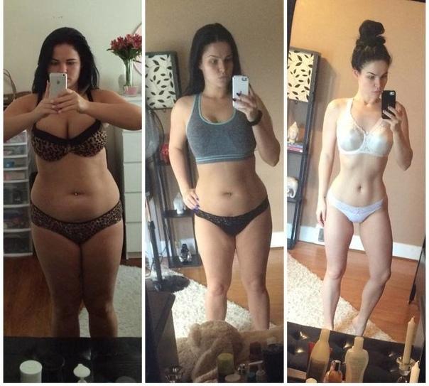 Девушка Которая Похудела Мотивация. Мощнейший мотиватор для худеющих: 20 ярких примеров до и после похудения.
