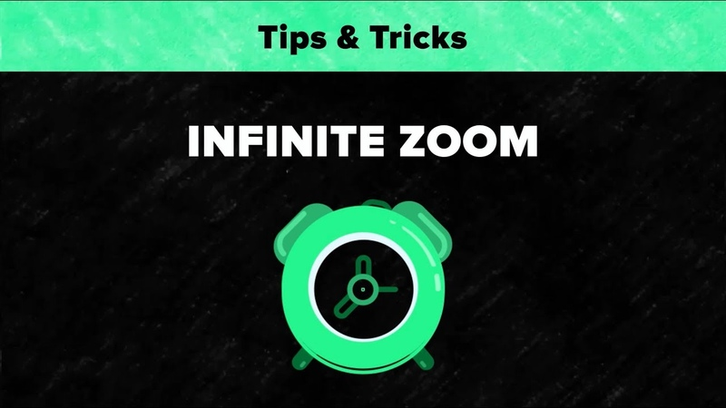 After Effects Tips Tricks - Infinite Zoom