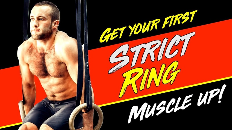 How To Get Your First Strict Ring Muscle Up (in 10 minutes!) | WODprep