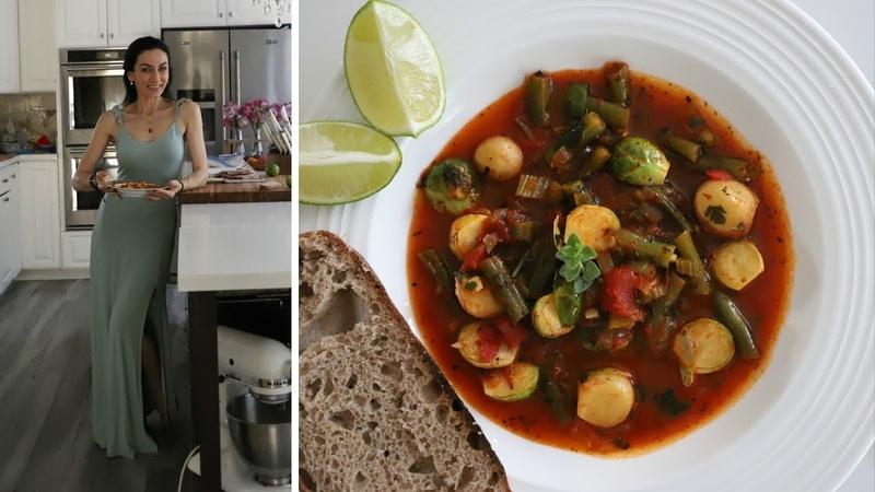 Полезный Суп из Зелёной Фасоли и Брюссельской Капусты - Рецепт от Эгине - Heghineh Cooking Show