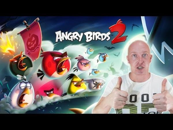 22 ЭНГРИ БЕРДС 2 Эпичная битва злых птичек и свиней! Игра как мультик на популярном детском канале!