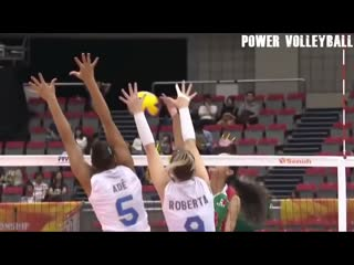 16 Years Old Melanie Parra - Amazing Volleyball Player (HD) #2