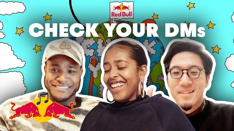 UK Garage meets Japanese Rap and Dutch Soul in New Online Collab Red Bull Check Your DMs EP 1