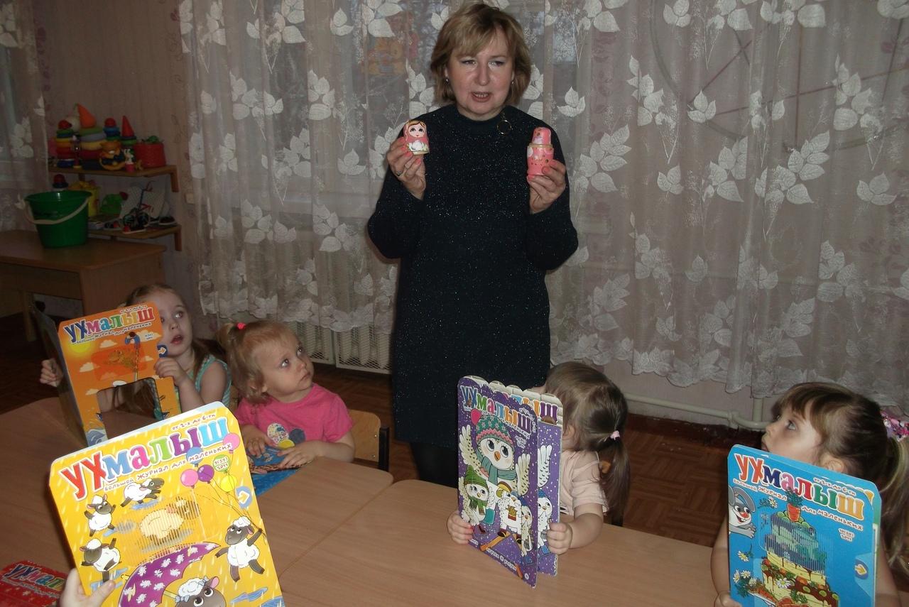 донецкая республиканская библиотека для детей, народная игрушка, занятия с дошкольниками, русская матрешка, отдел внестационарного обслуживания