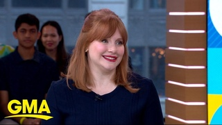 'Rocketman' star Bryce Dallas Howard talks meeting Elton John l GMA