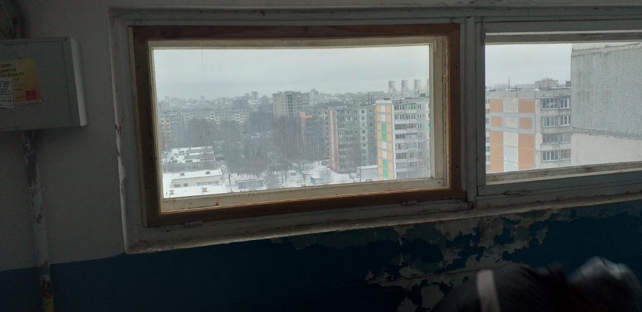Проспект Строителей дом 46 ремонт рамы