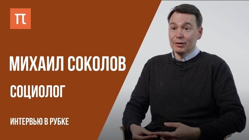 Бесполезные науки, плагиат и академическая карьера Интервью с социологом Михаилом Соколовым