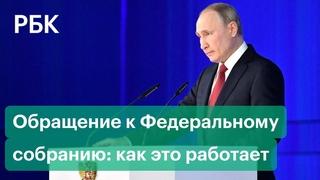 Зачем Путин обращается с ежегодным посланием к Федеральному собранию